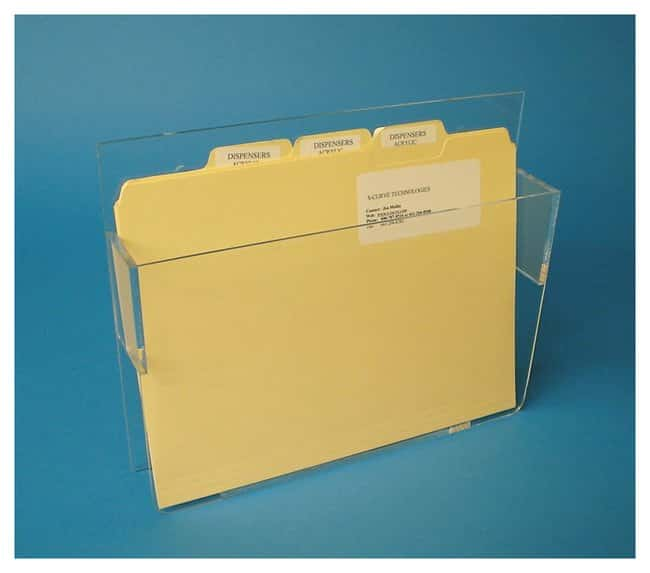 S-Curve Document-Folder-Binder Dispensers Document