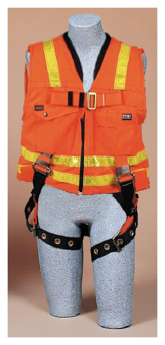 3M DBI-Sala Hi-Vis WorkVest and Harness Combination Medium Vest; w/Back