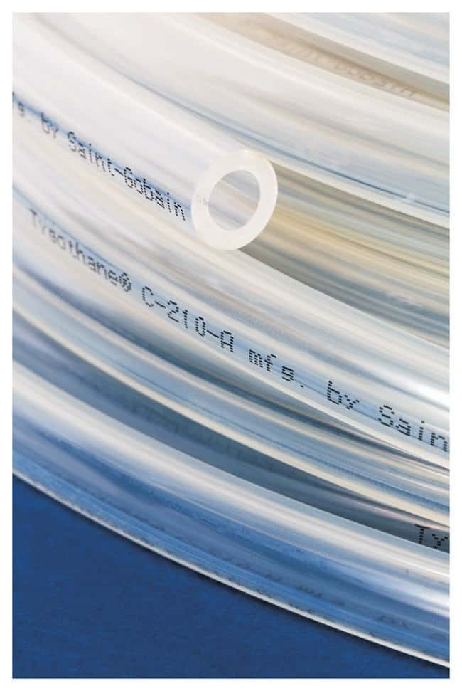 Saint-GobainTygothane™ Polyurethane Precision Tubing I.D.: 3/16 in.; O.D.: 1/4 in.; 1/32 in. thick; Min. bend radius: 1 in. Saint-GobainTygothane™ Polyurethane Precision Tubing