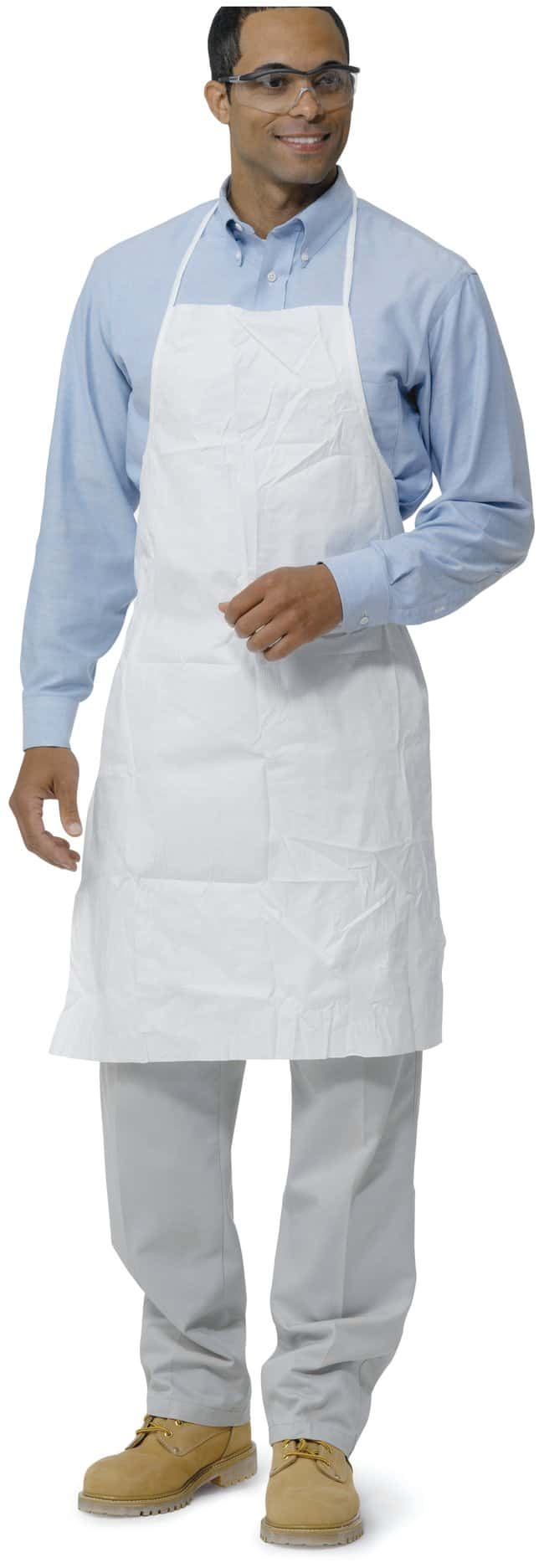 DuPont ProShield NexGen Apron and Sleeves Apron; L x W: 36 x 28 in. (69
