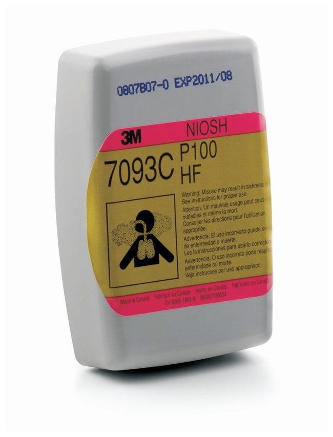 3M 7093CB Hydrogen Fluoride Cartridge/Filter NOR: organic vapors, acid