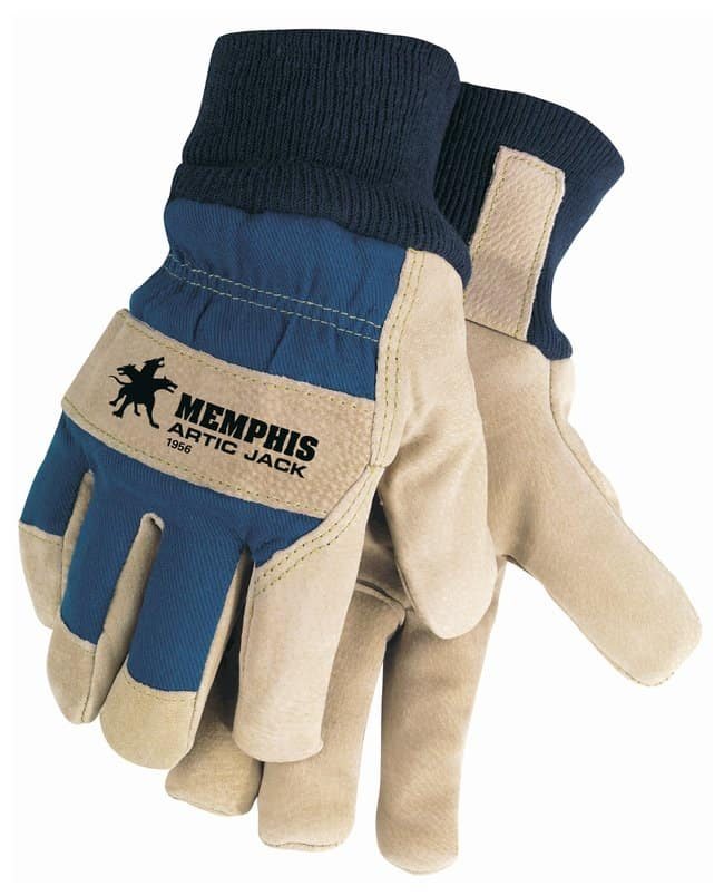 MCR Safety Memphis Insulated Leather Gloves Thumb type: wing; X-Large:Gloves,