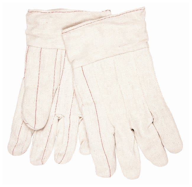 MCR Safety Double-Palm Cotton Gloves Band top:Gloves, Glasses and Safety