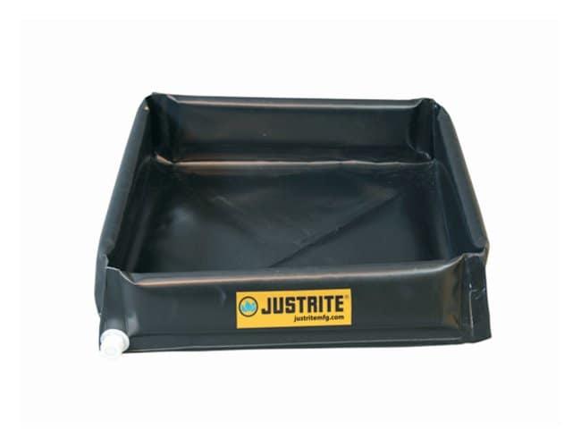 Justrite™Mini-Berm Flex Spill Control Tray
