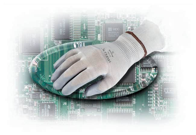 Ansell HyFlex Static Control Gloves Size 6; Purple:Gloves, Glasses and