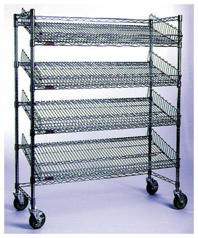 Eagle Angled-Shelf Cart:Furniture, Storage, Casework, Carts and Hoods:Carts