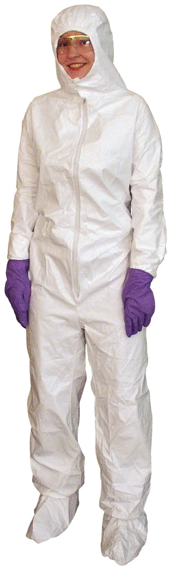 DuPont ProClean Limited-Use Cleanroom Coverall with Hood and Boots:Gloves,