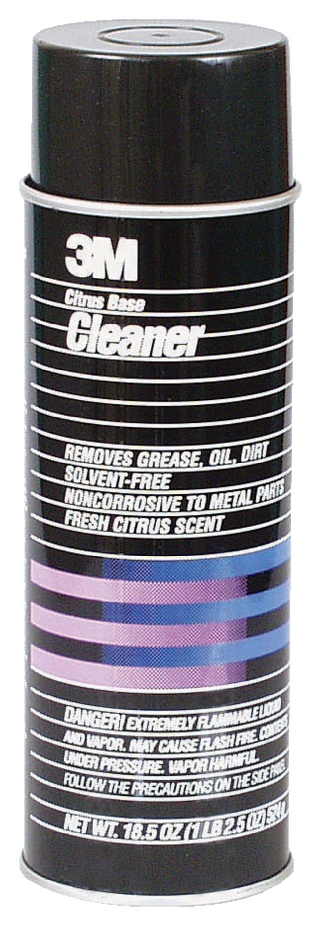3M Citrus Base Cleaner Citrus-oil base; Fresh citrus scent; 710mL:Gloves,