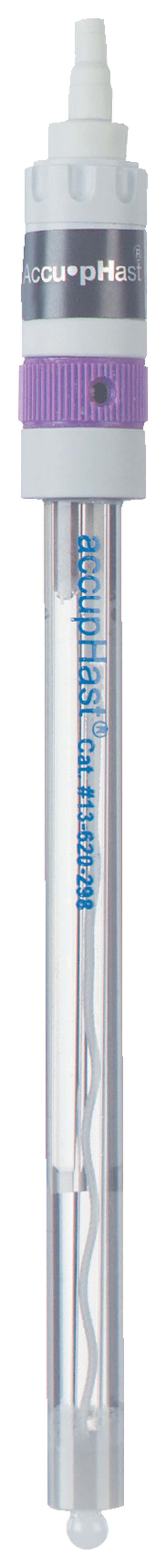 Fisherbrand™ accupHast™ Variable Temperature pH Combination Electrodes: Mercury-Free