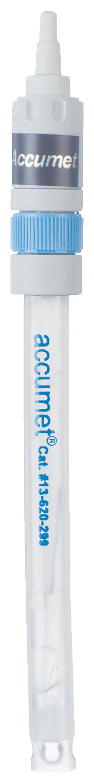 Fisherbrand™accumet™ Gelgefüllte pH-Kombinationselektroden aus Papierzellstoff mit doppeltem Diaphragma: Quecksilber-frei US-Standard-/Pin-Anschluss Fisherbrand™accumet™ Gelgefüllte pH-Kombinationselektroden aus Papierzellstoff mit doppeltem Diaphragma: Quecksilber-frei