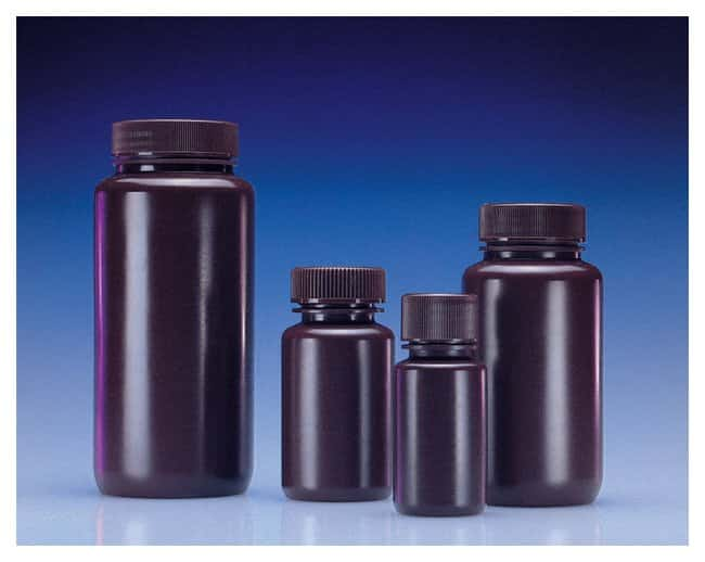 DWK Life Sciences Wheaton™ Leak-Resistant Wide-Mouth HDPE Bottles