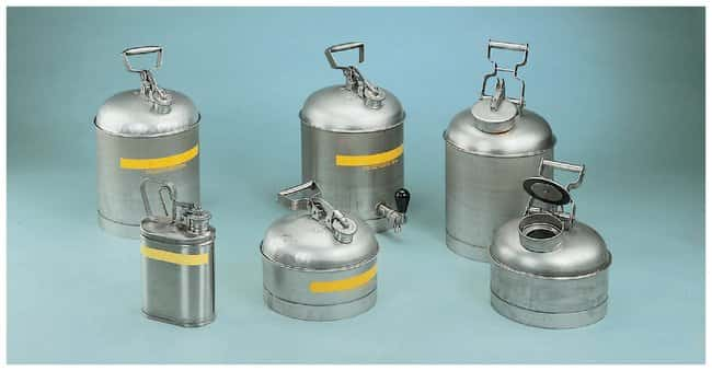 Eagle Stainless-Steel Safety Cans:Gloves, Glasses and Safety:Hazardous