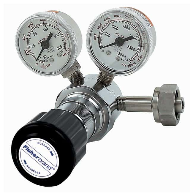 Fisherbrand High-Purity Stainless-Steel Single-Stage Regulators:Chromatography:Gases