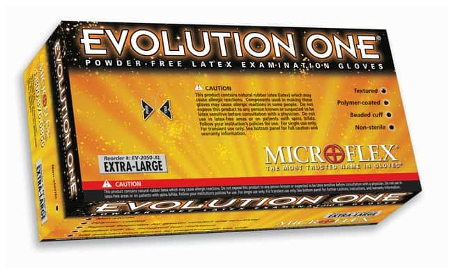 Microflex&trade;&nbsp;Evolution One&trade; Powder-Free Latex Exam Gloves&nbsp;<img src=