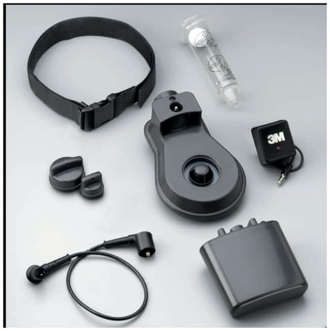 3M GVP-Series Belt-Mounted PAPR Assemblies Web belt:Gloves, Glasses and