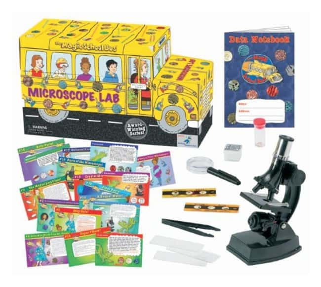 The Young Scientists Club™Magic School Bus™ Series — Microscope Lab Kit