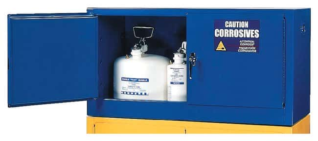 Eagle™ Metal Acid and Corrosive Safety Cabinet Add-on w/Optional Shelf