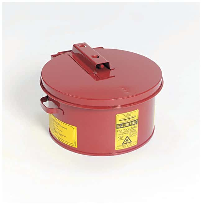 Justrite™Tauchbehälter zur Reinigung von Instrumenten Fassungsvermögen: 5Gal. (19 L), mit HPDE-Liner Justrite™Tauchbehälter zur Reinigung von Instrumenten