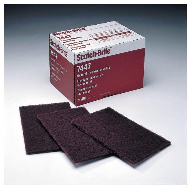 3M Scotch-Brite General-Purpose Hand Pad 7447  20/Pack:Gloves, Glasses