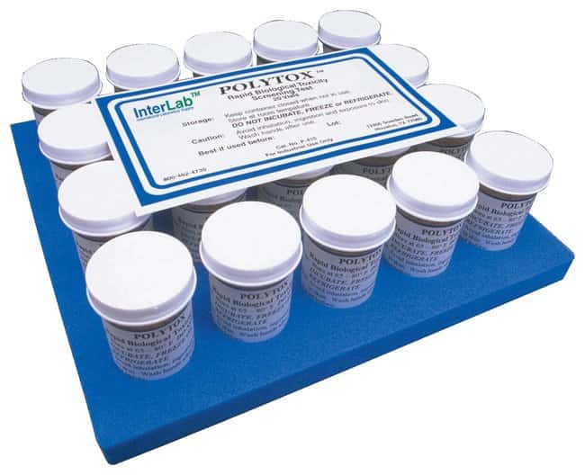 InterLab Supply PolyTox Rapid Toxicity Test Vials Specialized bacterial