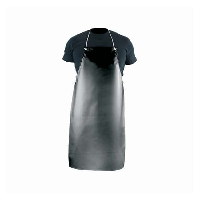 PGI Aprons, Black Double-coated; Black:Gloves, Glasses and Safety