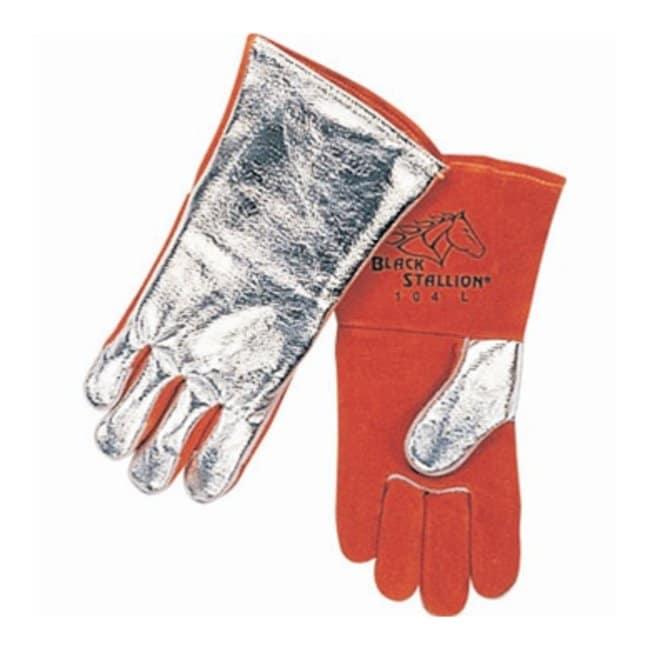 Black Stallion™Premium Side Split Cowhide Stick Welding Gloves