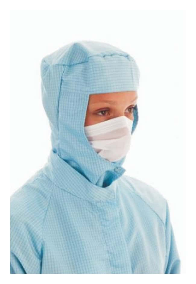 Ansell™ BioClean™ Microflow™ Facemasks Soft face veil with headband and nosepiece Ansell™ BioClean™ Microflow™ Facemasks