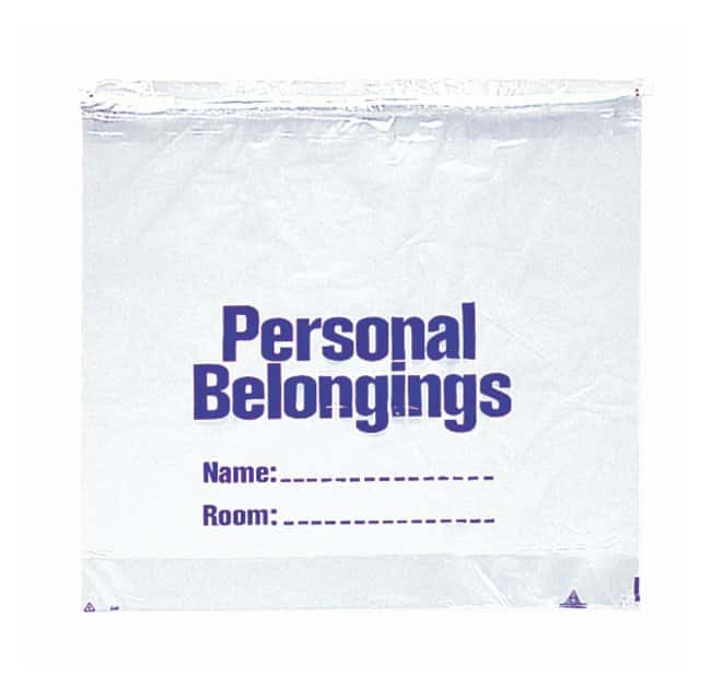 Minigrip Patient Belonging Bags Clear film; W x H: 20 x 20 in.; Gauge: