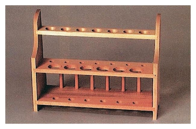 United Scientific Supplies Wooden Test Tube Racks