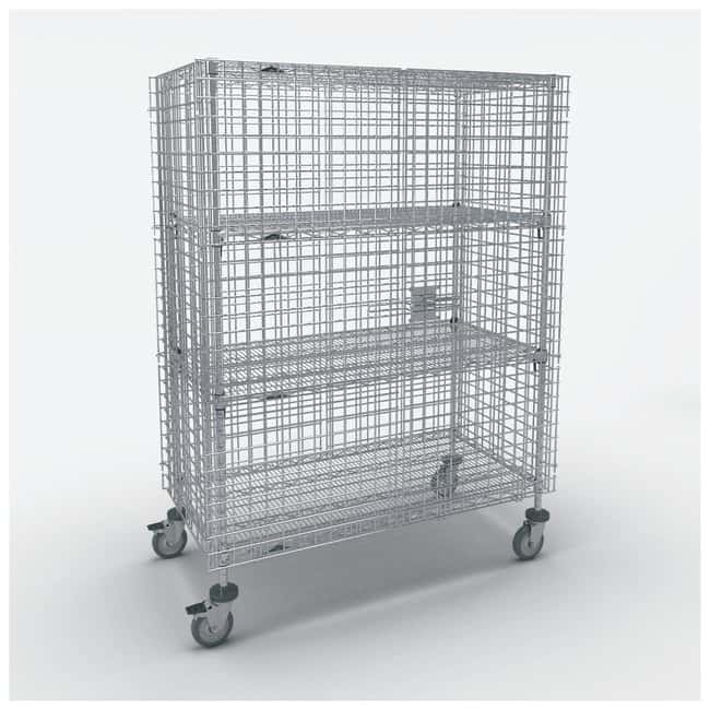 Metro Standard-Duty Mobile Security Units, Stainless Steel:Furniture, Storage,