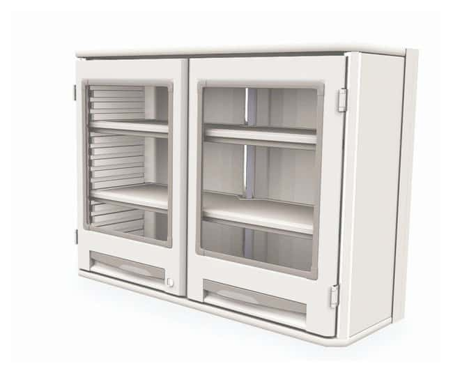 Metro™Starsys™ Overhead Storage Unit Doors with view; Double width; Solid shelves Metro™Starsys™ Overhead Storage Unit