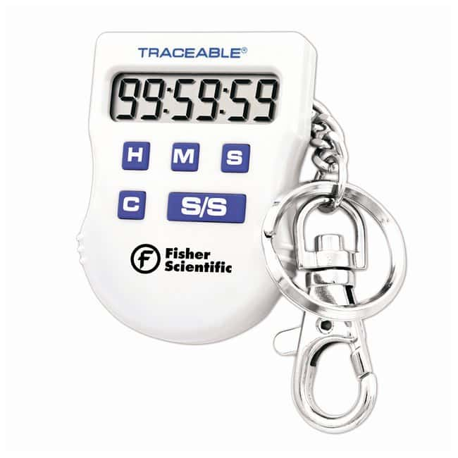 Fisherbrand™ Traceable™ Handheld Timers with Key-Ring Clip