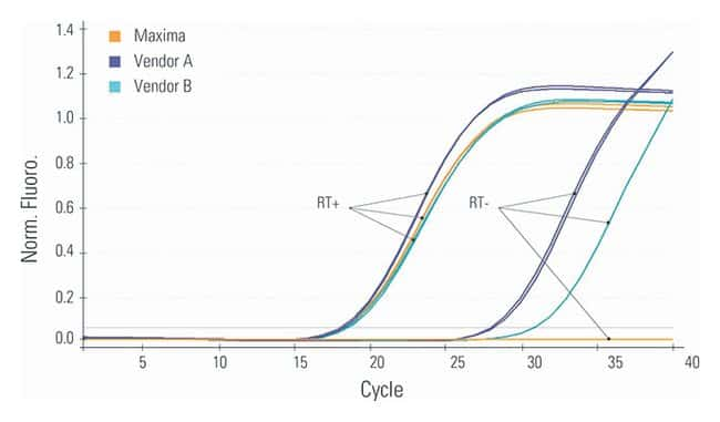 Thermo Scientific™ Maxima First Strand cDNA Synthesis Kit for RT-qPCR, with dsDNase: Bioreagents Chemicals