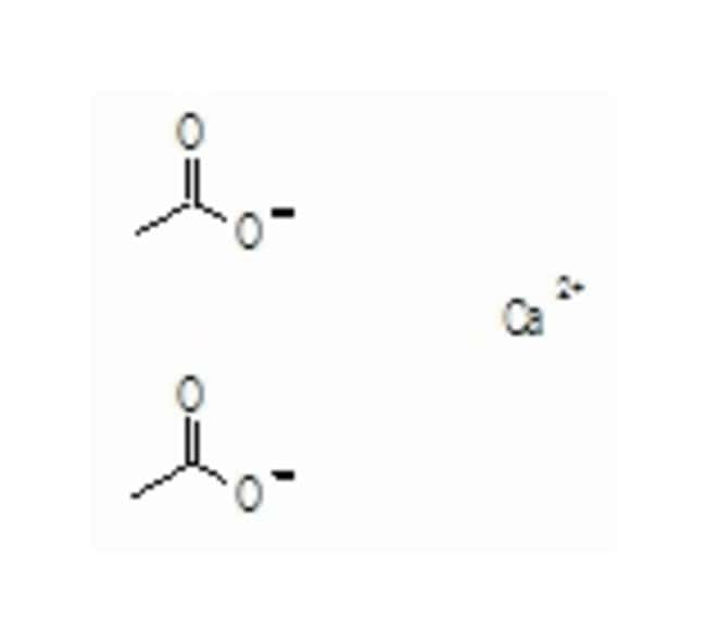 Calcium acetate hydrate, 99%, extra pure, ACROS Organics