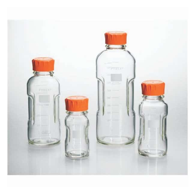 PYREX™ Slim Line Round Media Storage Bottles