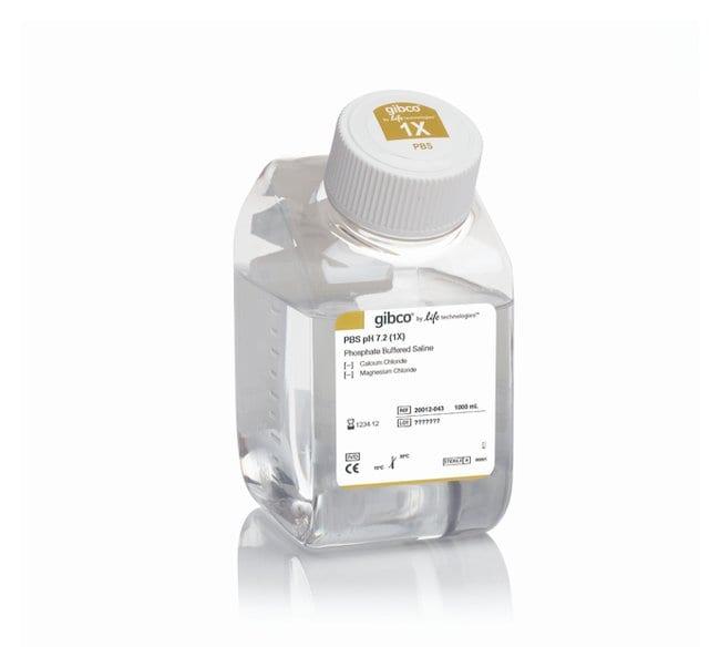 Gibco™PBS (Phosphate Buffered Saline), pH 7.2 500mL Gibco™PBS (Phosphate Buffered Saline), pH 7.2