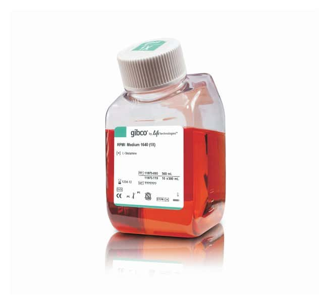Gibco RPMI 1640 Medium  :Cell Culture:Cell Culture Media