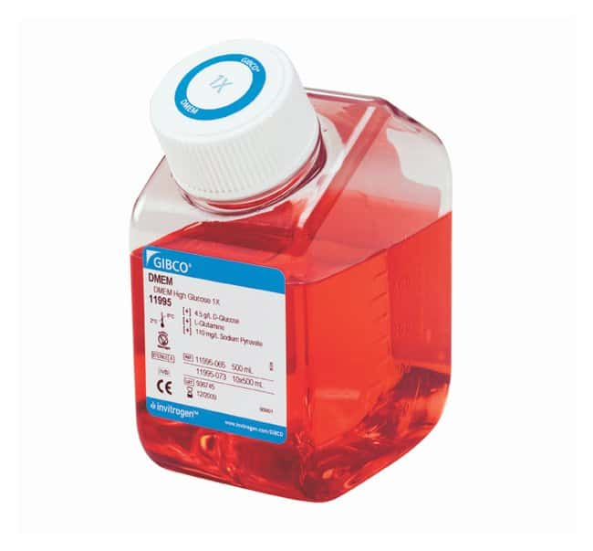 Gibco DMEM, high glucose, pyruvate  :Cell Culture:Cell Culture Media