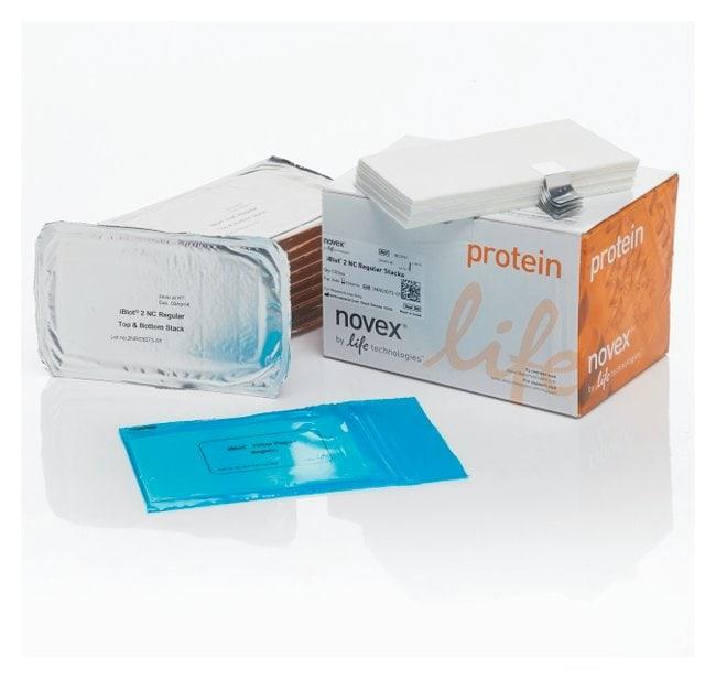 Invitrogen™Novex™ iBlot™ 2 Nitrocellulose Transfer Stacks Regular size, 0.2um pore size Invitrogen™Novex™ iBlot™ 2 Nitrocellulose Transfer Stacks