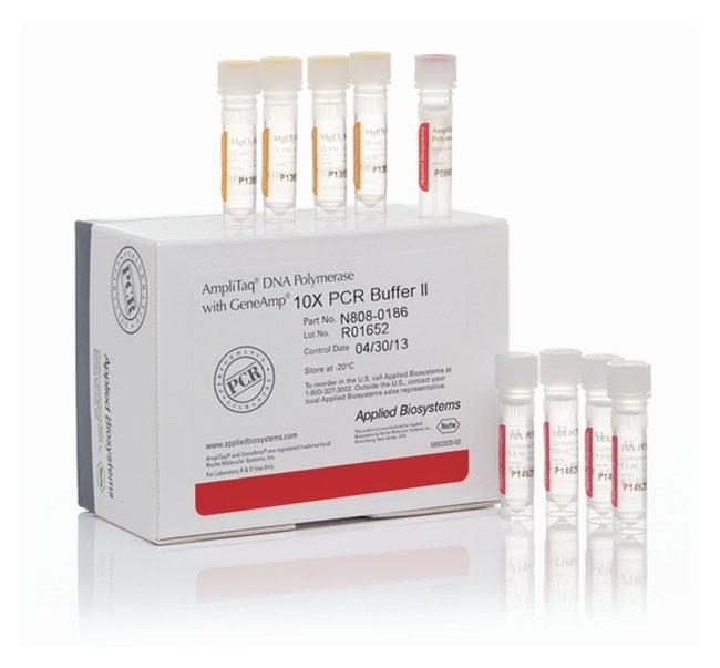 Applied Biosystems™AmpliTaq™ DNA Polymerase with Buffer II (1,000 units/tube) 25,000 units Applied Biosystems™AmpliTaq™ DNA Polymerase with Buffer II (1,000 units/tube)