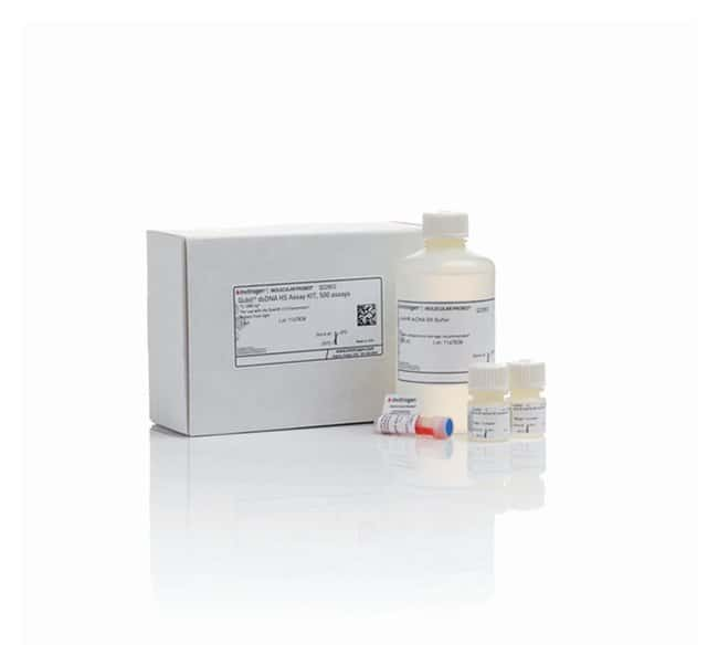 Invitrogen™ Kit de dosage haute sensibilité de l'ADNdb Qubit™: Bioréactifs Sciences de la vie