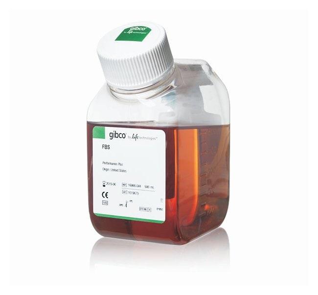 Gibco™Sérum de veau fœtal, certifié, origine américaine, standard (stérilisé -filtré): Sérum de veau fœtal et autres sérums Culture cellulaire