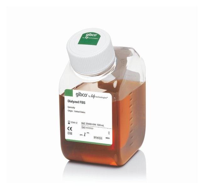 Gibco™Sérum de veau fœtal, dialysé, origine américaine 500ml Sérums bovins fœtaux