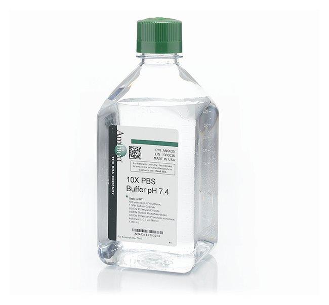 Invitrogen™PBS Phosphate-Buffered Saline (10X) pH 7.4: Bioreagents Chemicals