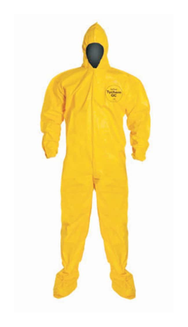 DuPont Tychem 2000 Series 122 Coveralls Storm flap covers zipper; Bound