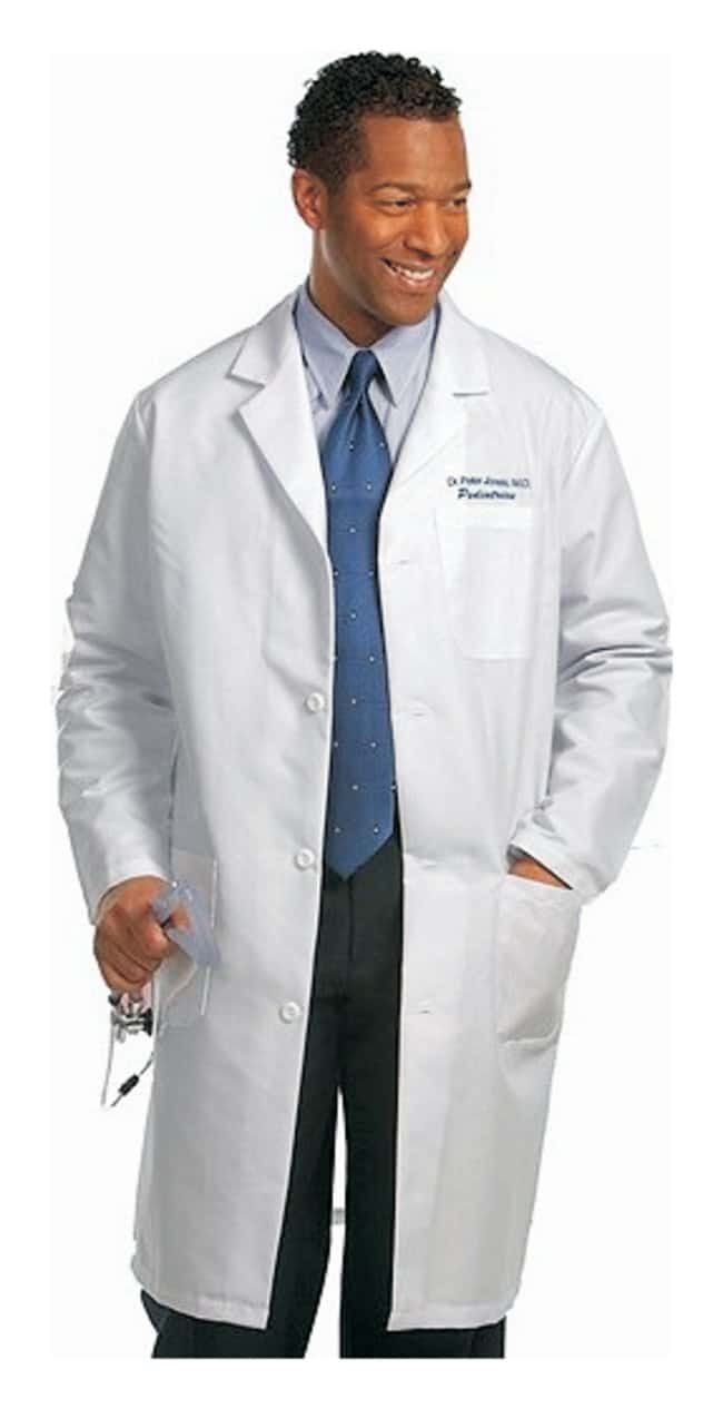 Superior Uniform Cotton Twill Knee-Length Lab Coats