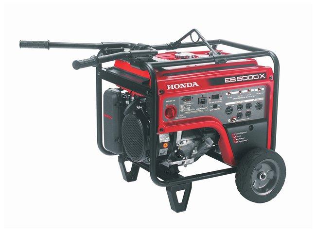 Tele-LiteHonda Portable Economy Generator Honda Generator; 5000 watts,