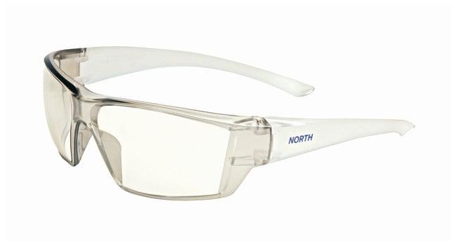 Honeywell North Conspire Safety Eyewear Matte clear frame; Indoor/Outdoor