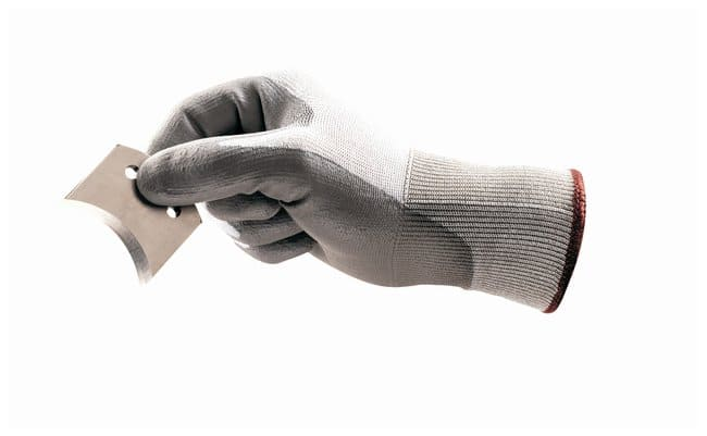 Ansell HyFlex 11-644 Polyurethane-Coated Cut Protection Gloves Size: Medium:Gloves,