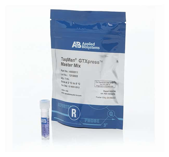 Applied biosystems taqman gtxpress master mix for Productos para singles